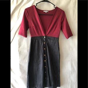 Dresses & Skirts - 2 tone dress